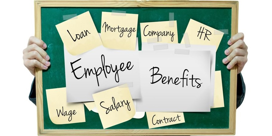 Employee benefits costs for business