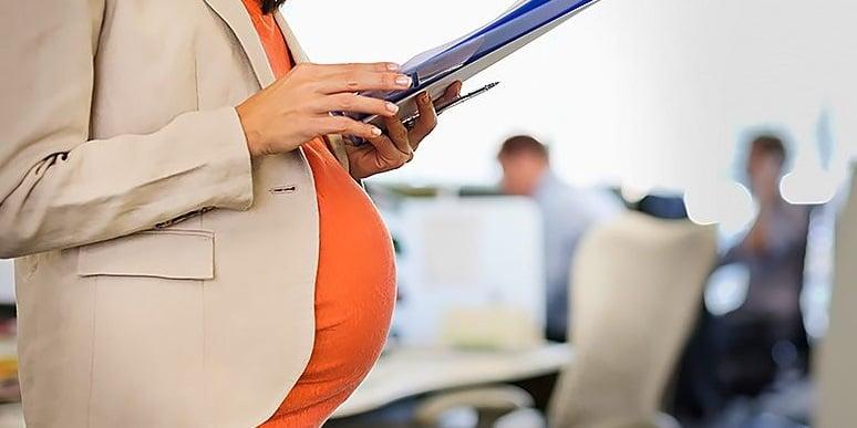 Making employees on maternity leave redundant