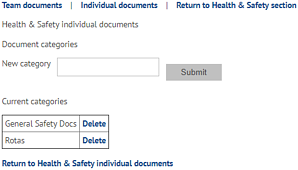 Health and safety delete documents on myhrtoolkit