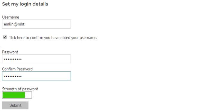Change password on myhrtoolkit