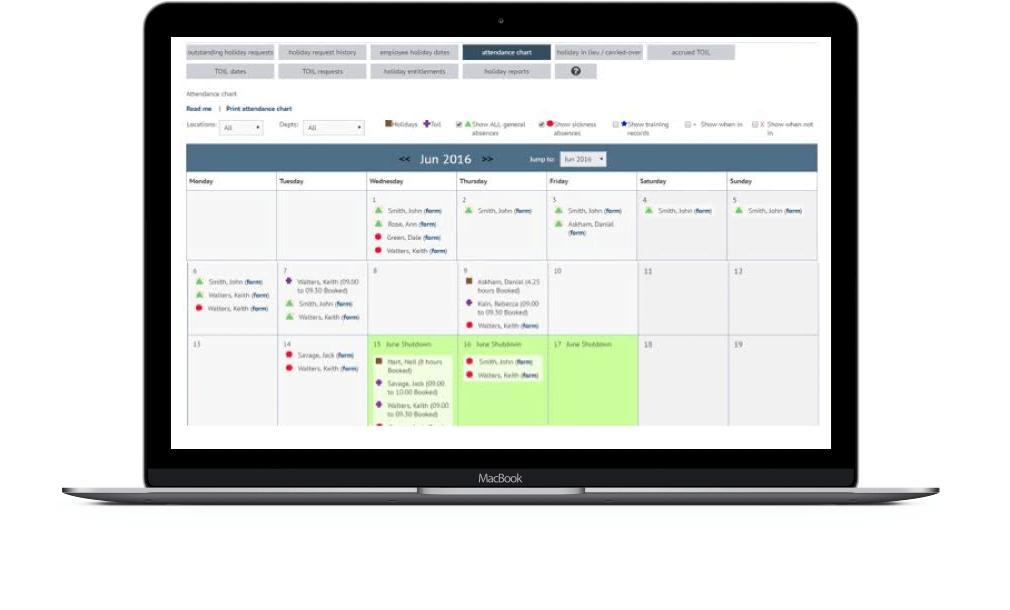 Holiday management software myhrtoolkit