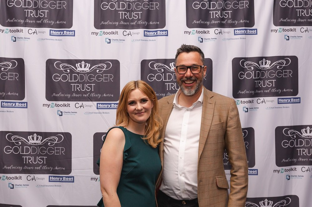 Golddigger Auction 2019 Jon Curtis and Beth Stout