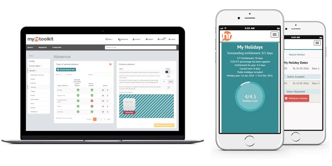HR software remote working solution