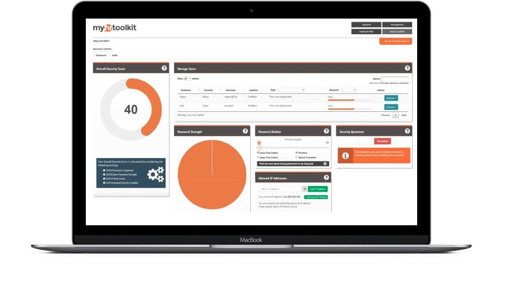 Secure HR software - best HR system