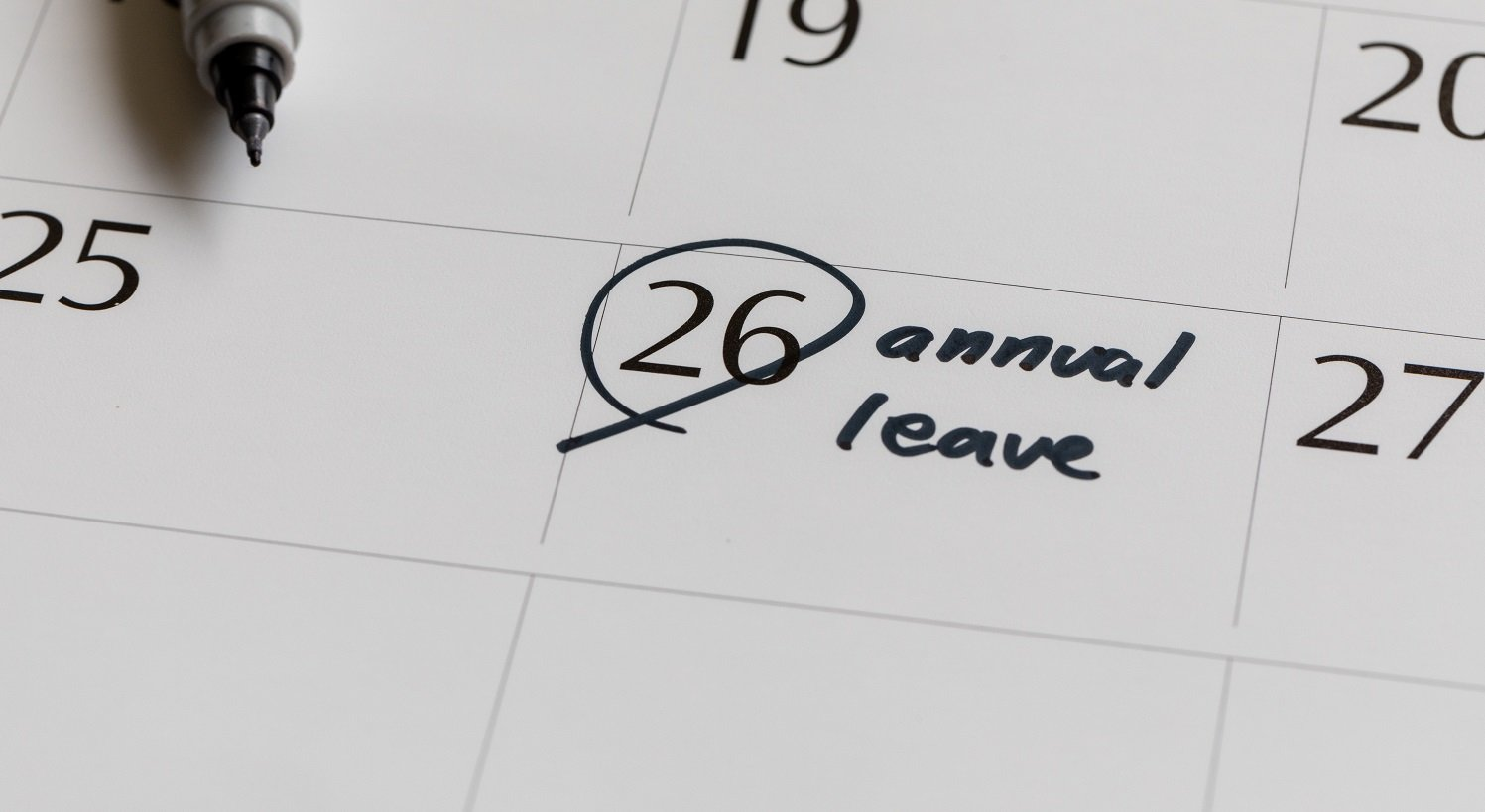 Managing annual leave during lockdown