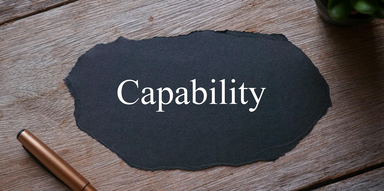 Capability dismissal