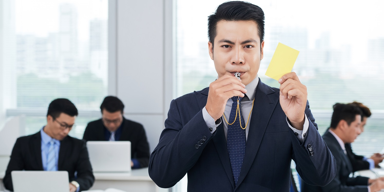 Employee whistleblowing