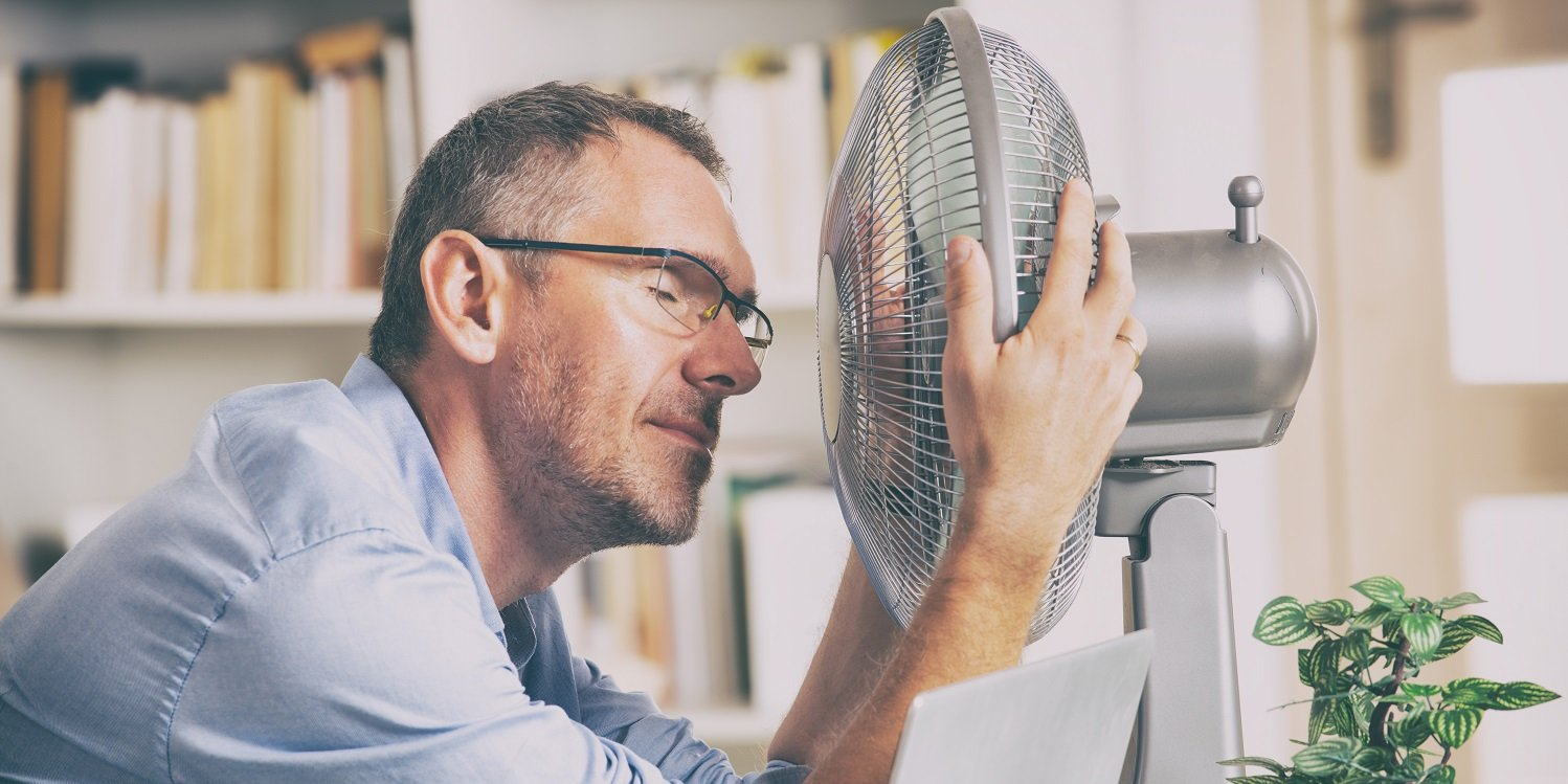 Workplace temperature office too hot in summer
